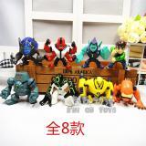 Sale Hacker Ben10 Juvenile Flame Man Toy Doll Model Oem On China