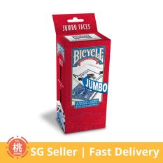 Bicycle Poker Size Jumbo Index Playing Cards 12 Pack On Singapore