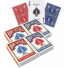 How Do I Get Bicycle Standard Poker Playing Cards 4 Pack