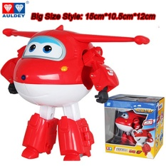 Sale Big 15Cm Abs Super Wings Deformation Airplane Robot Action Figures Super Wing Transformation Toys For Children Gift Brinquedos Intl China Cheap