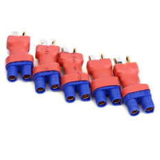Buy Black Shop International 5Pcs Ec3 Male M To T Male Plug Connector Adapter Converter For Rc Airplane Intl Cheap China