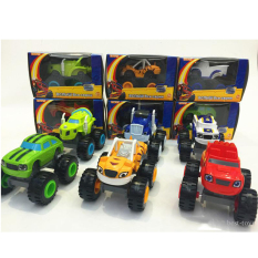 Low Cost Black Shop International 6Pcs Nickelodeon Blaze And The Monster Machines Transforming Blazejet Intl
