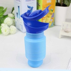Blue Male Female Portable Urinal Travel Camping Car 750ml Toilet Pee Bottle - Intl By Wilk.