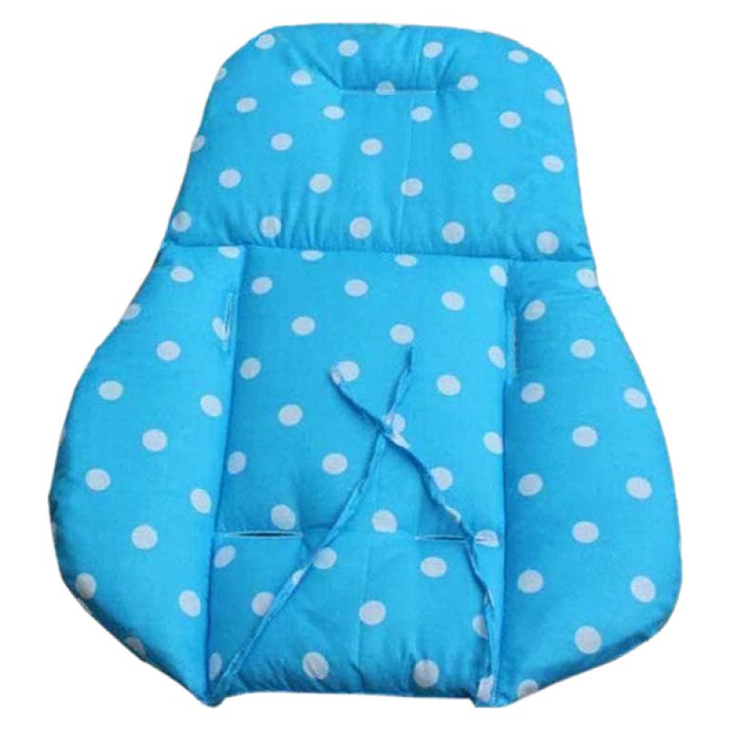 Bluelans® Thick Baby Infant Stroller Seat Pushchair Cushion Cotton Mat White Dot Blue Singapore