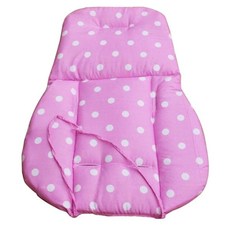 Bluelans® Thick Baby Infant Stroller Seat Pushchair Cushion Cotton Mat White Dot Pink Singapore