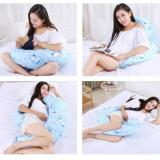 Lowest Price Body Pregnancy Support Pillow Breastfeeding Cotton Maternity Pillow Twin Baby Infant Nursing Pillows Women Pregnant Sleep (Blue)