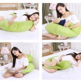 Sale Body Pregnancy Support Pillow Breastfeeding Cotton Maternity Pillow Twin Baby Infant Nursing Pillows Women Pregnant Sleep Green Singapore