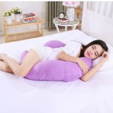 Buy Body Pregnancy Support Pillow Breastfeeding Cotton Maternity Pillow Twin Baby Infant Nursing Pillows Women Pregnant Sleep Purple Haotom Original