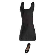 Brand New Bolehdeals 1 6 Vest Skirt Dress High Heels For 12 Female Action Figure Body Black Intl