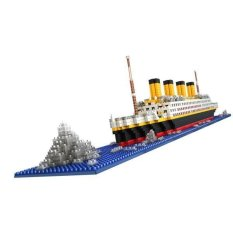 Bolehdeals 1860pcs Grand Titanic Building Blocks Kit Ship Model Assembly Block Kids Toy - Intl By Bolehdeals.