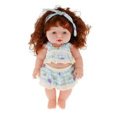 Who Sells Bolehdeals Bolehdeals Realistic Silicone Baby Doll Vinyl Real Life Lifelike Baby G*Rl In Green Export The Cheapest