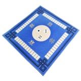 Price Bolehdeals Mahjong Table Mat Cloth Household Silence Anti Skid 79X79Cm Card Game Blue Intl Online Hong Kong Sar China