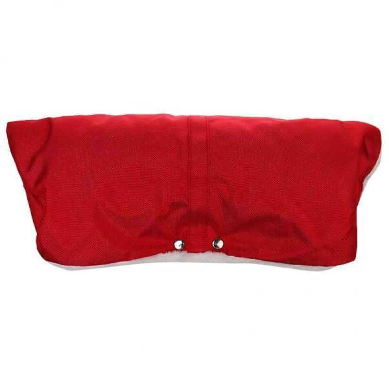 BolehDeals Water-proof Fleece Warm Baby Stroller Pram Golves Hand Muff Warmer Red - intl Singapore