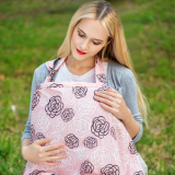 Breast Feeding Cover Nursing Pink Export Cheap