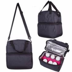 Breast Pump Breast Milk Food Storage Posh Cooler Bags Oxford Black Breastmilk Storage Bag Bottle Use Autumnz Discount