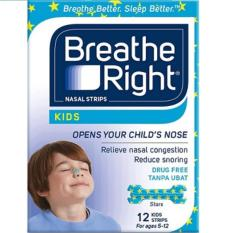 Breathe Right Nasal Strips Kids 12s By Watsons.