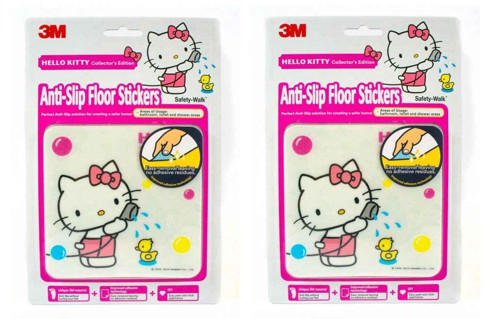 [Bundle of 2] 3M™ Safety Walk™ Hello Kitty Anti Slip Floor Stickers
