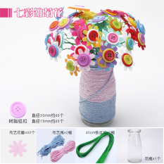 Candy Color Flower Diy Material Package Toy Button Lowest Price