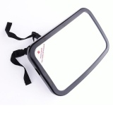 Car Back Seat Shatterproof Baby Safety Mirror 360° Adjustable Rear View Baby Backseat Mirror Black Color Black Intl Best Buy