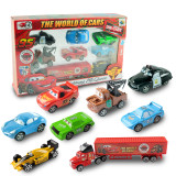 Sale Children S Alloy Container Truck Car Toy Set Online On China