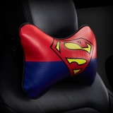 Get Cheap Cartoon Superhero Car Seat Head Rest Cushion Pillows Neck Pillow Headrest Cusion Pu Leather Auto Supplies 1 Superman Print Intl