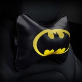 Cartoon Superhero Car Seat Head Rest Cushion Pillows Neck Pillow Headrest Cusion Pu Leather Auto Supplies 9 Batman Print Intl Review