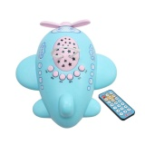 Cheapest Cenita Baby Infant Kids Children Music Story Projector Lamp Appease Plane Toy Intl