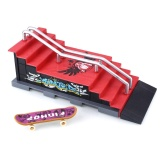 Cenita Finger Skateboard Scene Combination Ramp Stairs Toys Children Gifts Sports Safe Intl Coupon