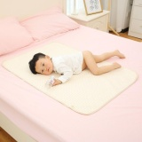 The Cheapest Cheer Stripe Organic Cotton Waterproof Layer Baby Changing Urine Pad Bed Sheets Multi Color L Intl Online
