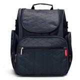 Top Rated Children Baby Changing Diaper Nappy Mummy Bag Backpack Handbag Mum Travel Bag Dark Blue Intl