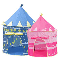 Get The Best Price For Children Castle Indoor Outdoor Play Tent Blue Intl