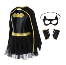 Children Girls Batman Batgirl Fancy Dress Superhero Costume Outfits Comic Cosplay By Ants House.