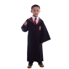 Low Price Children Harry Potter Costume Magic Robe Cloaks Robes Cosplay Size L(Gryffindor)