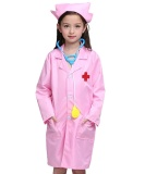 Price Comparisons Children Lab Coat Kids Doctor Role Play Halloween Costumes Dress Up Set S Intl