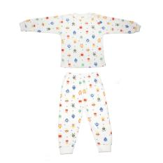 Discounted Chilli Padi Bamboo Cotton 2 Pc Set Robot