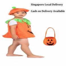 Price Comparisons For Ciao Helloween Pumpkin Cloth And Bag Children Costume Gift Cosplay M