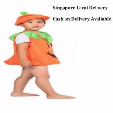 Ciao Helloween Pumpkin Cloth Children Costume Gift Cosplay L Compare Prices