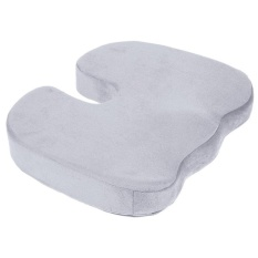 Review Coccyx Orthopedic Memory Foam Seat Cushion For Chair Car Office Home Grey Intl Any4You