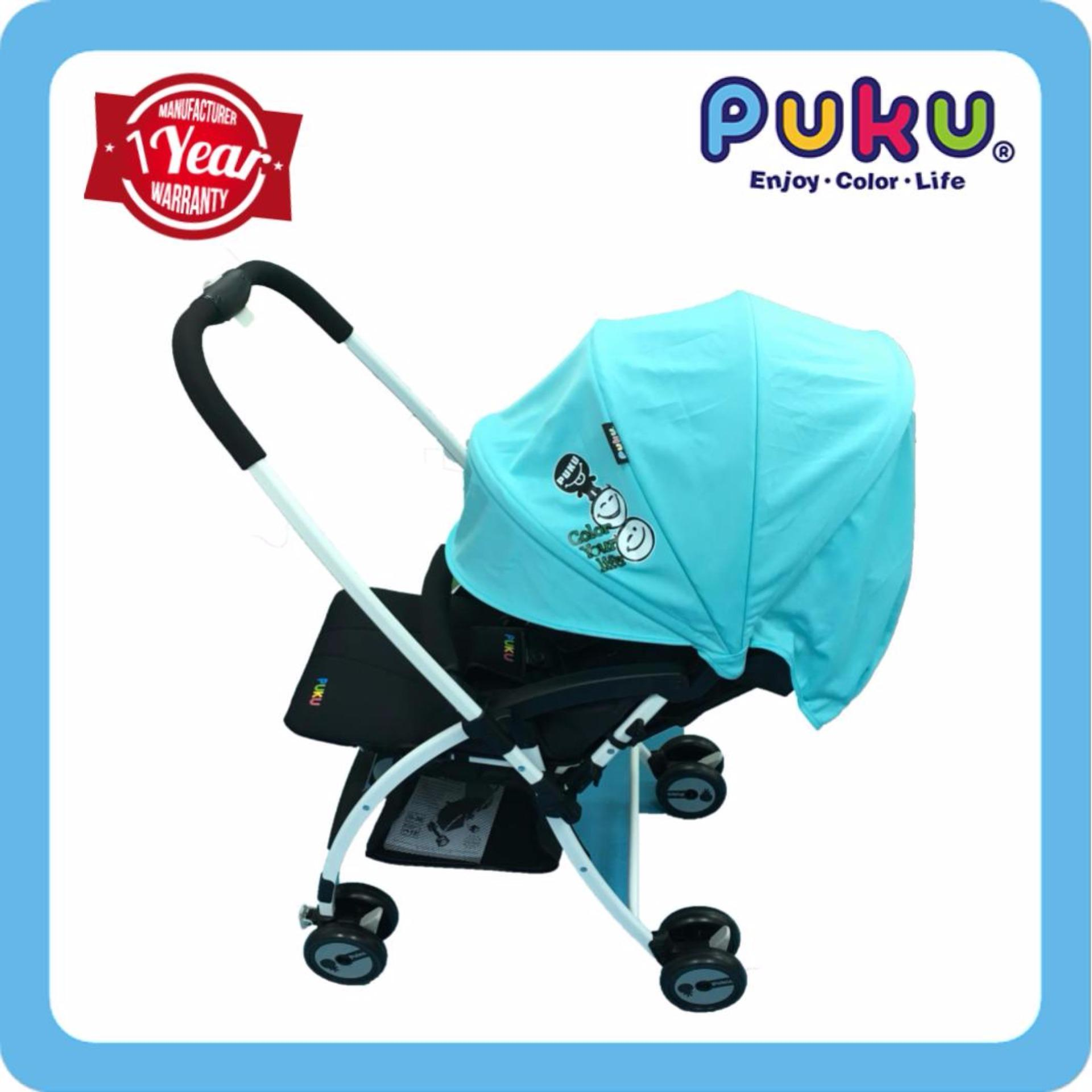 List Price Puku My Color Stroller Blue Puku