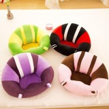 Compare Price Colorful Baby Support Seat Learn Sit Soft Chair Cushion Sofa Plush Pillow Toys Intl On China