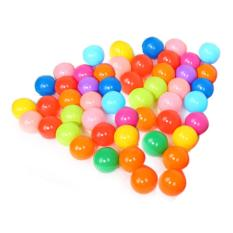 Colorful Ball Soft Plastic Ocean Ball Funny Baby Kid Swim Pit Toy 50pcs By Unique Amanda.