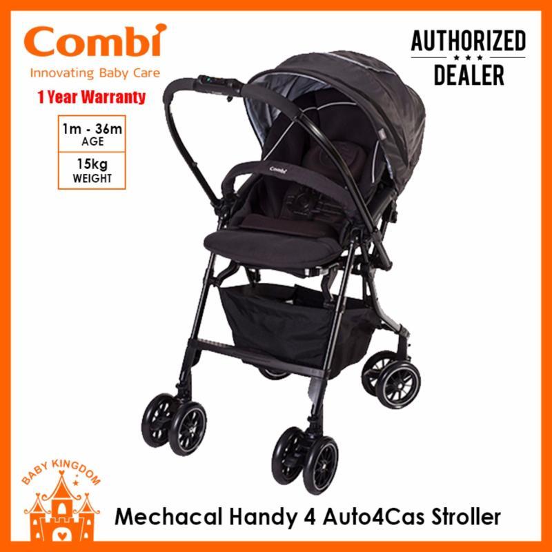 Combi Mechacal Handy 4auto4cas Stroller (Black) Singapore