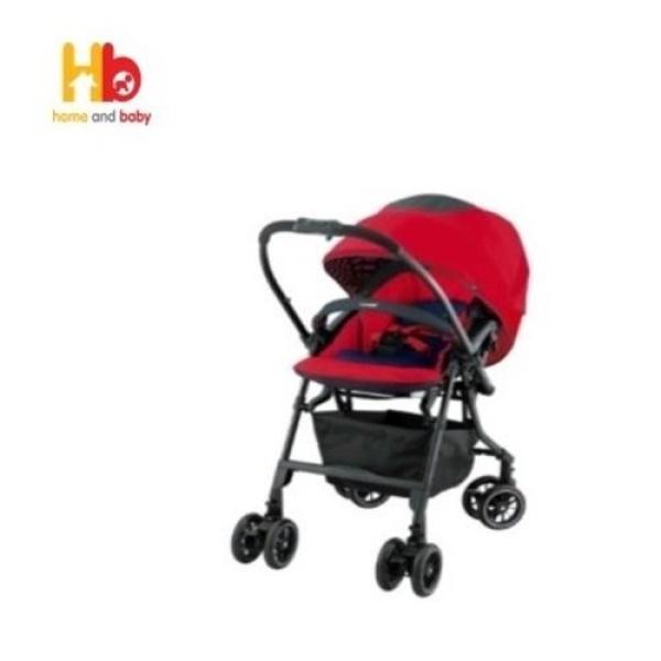 Combi Mechacal Handy Auto 4 Cas Stroller (Garnet Red) Singapore