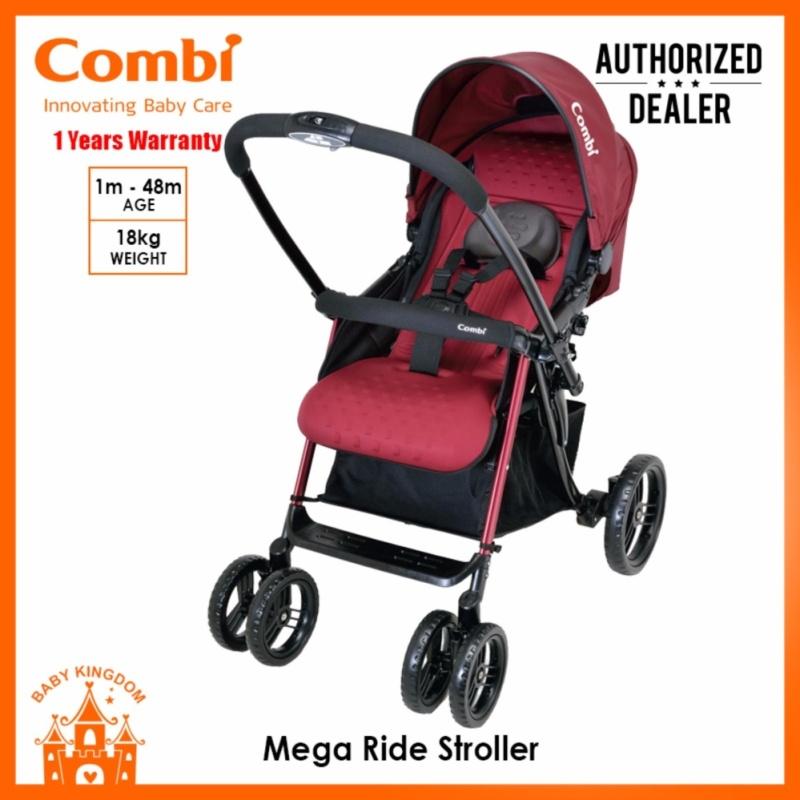 Combi Mega Ride Stroller (Red) Singapore