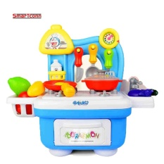 Cook Happy Kitchen Playset Mini Market Play Set With Full Utensils Set Intl For Sale Online