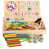 Cheap Counting Maths Games Teaching Clock Learning Tool Number Toy