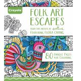 Get The Best Price For Crayola Folk Art Escapes Coloring Book
