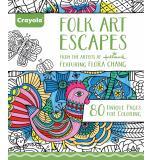 Crayola Folk Art Escapes Coloring Book In Stock