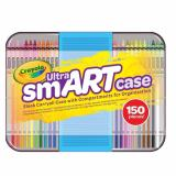 Cheapest Crayola Ultra Smart Case Art Tool Kit Cool Case With Multiple Compartments Great Gift