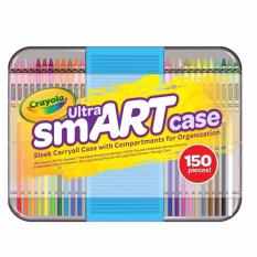 Review Crayola Ultra Smart Case Art Tool Kit Cool Case With Multiple Compartments Great Gift Crayola